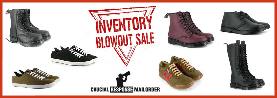 Shoe Blow Out Sale