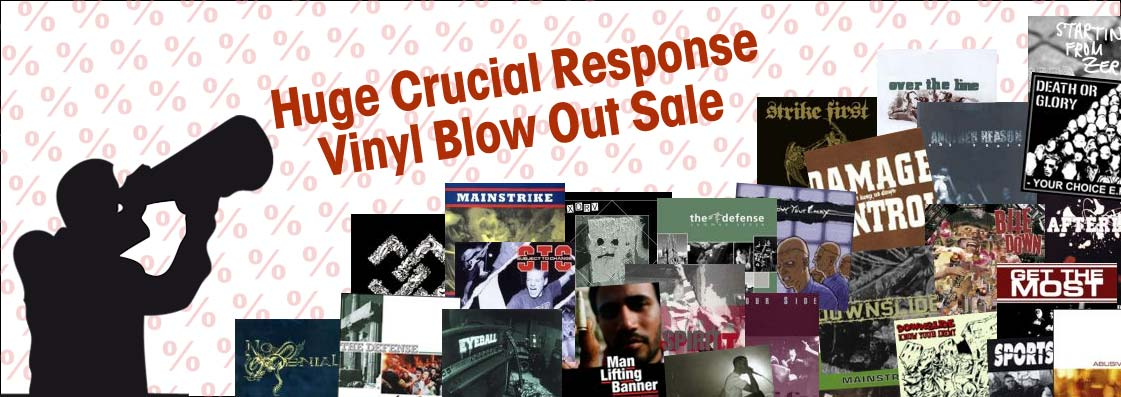 Vinyl Blow Out Sale
