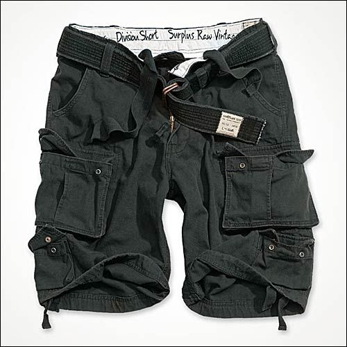 Division Shorts schwarz