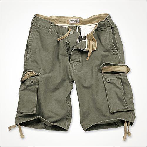 Vintage Shorts oliv
