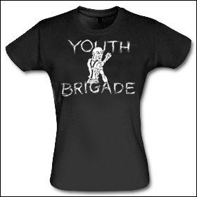 Youth Brigade - Skinhead Girlie Shirt