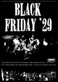 Black Friday '29 - Blackout Poster