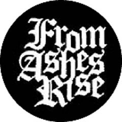 From Ashes Rise - Logo Button