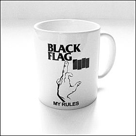 Black Flag - My Rules Tasse