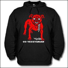 Go Vegetarian - Hooded Sweater
