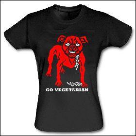 Go Vegetarian - Girlie Shirt