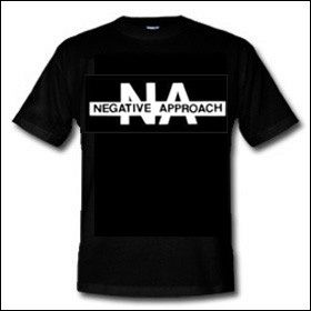 Negative Approach - Logo Shirt