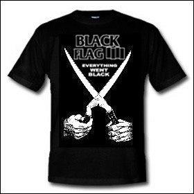 Black Flag - Everything Went Black Shirt