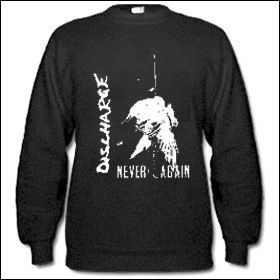 Discharge - Never Again Sweater