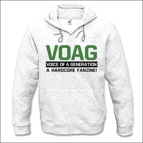 Voice Of A Generation Zine - Hooded Sweater