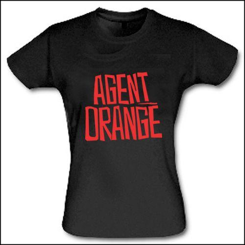 Agent Orange - Logo Girlie Shirt
