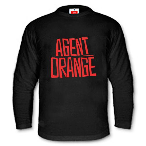 Agent Orange - Logo Longsleeve
