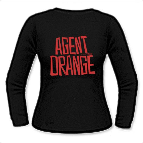 Agent Orange - Logo Girlie Longsleeve