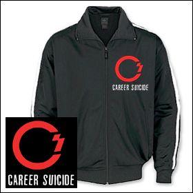 Career Suicide - Logo Trainingsjacke
