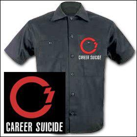 Career Suicide - Logo Workershirt