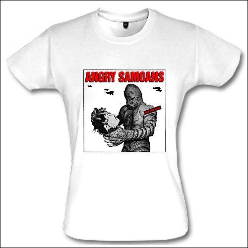 Angry Samoans - Back From Samoa Girlie Shirt