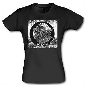 MDC - Multi-Death Corporations Girlie Shirt