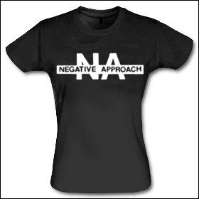 Negative Approach - Logo Girlie Shirt