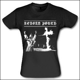 Reagan Youth - New Order Girlie Shirt