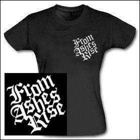 From Ashes Rise - Logo Girlie Shirt