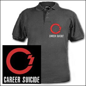 Career Suicide - Logo Polo Shirt