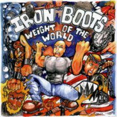 Iron Boots - Weight Of The World CD