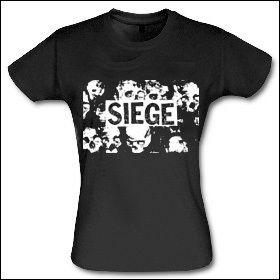 Siege - Girlie Shirt