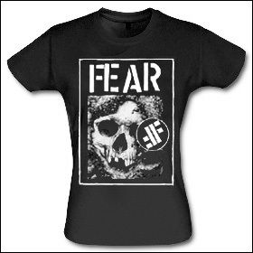 Fear - Skull Girlie Shirt