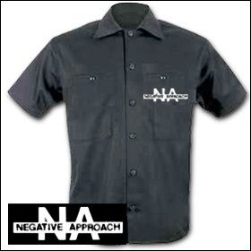 Negative Approach - Logo Workershirt