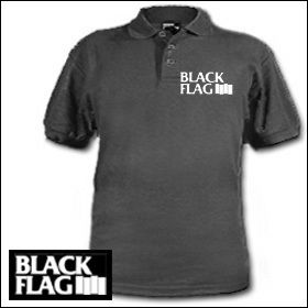 Black Flag - Logo Polo Shirt