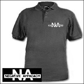 Negative Approach - Logo Polo Shirt