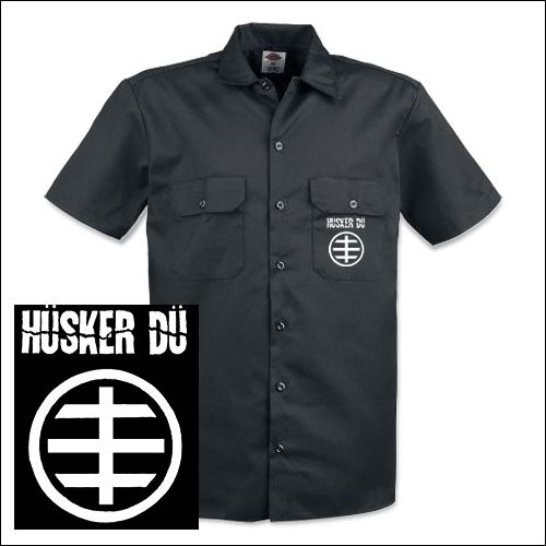 Hüsker Dü - Logo Workershirt