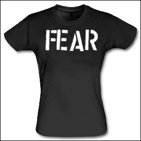 Fear - Logo Girlie Shirt