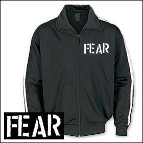 Fear - Logo Trainingsjacke