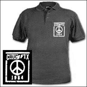 Crucifix - Peace Polo Shirt