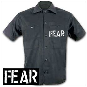 Fear - Logo Workershirt