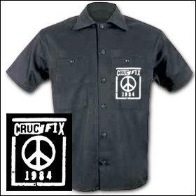 Crucifix - Peace Workershirt