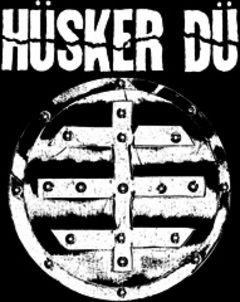 Hüsker Dü - Logo Aufnäher