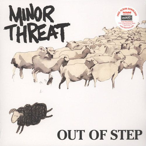 Minor Threat - Out Of Step LP (Re-mastered)