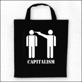 Capitalism - Tasche (Henkel kurz)