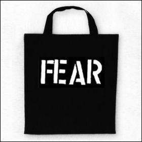 Fear - Logo Tasche (Henkel kurz)