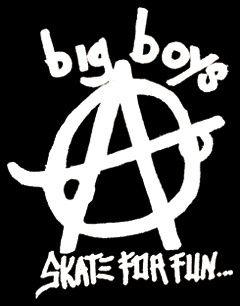 Big Boys - Skate For Fun Aufnäher
