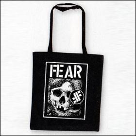 Fear - Skull Tasche (Henkel lang)