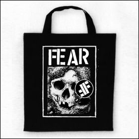 Fear - Skull Tasche (Henkel kurz)