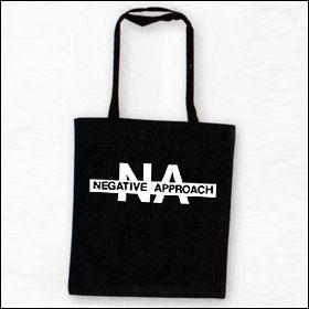 Negative Approach - Logo Tasche (Henkel lang)