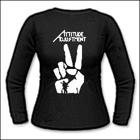 Attitude Adjustment - Victory Girlie Longsleeve