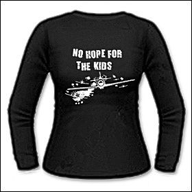 No Hope For The Kids - Girlie Longsleeve