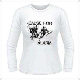 Cause For Alarm - Girlie Longsleeve