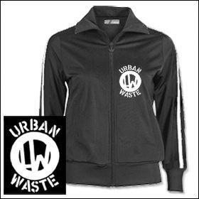 Urban Waste - Logo Girlie Trainingsjacke