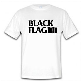 Black Flag - Logo Shirt